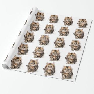Papel De Regalo Regalos del gatito
