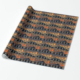 Papel De Regalo remiendo del sfg del sf del sof de las boinas