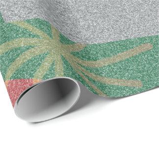 Papel De Regalo Santa Cat Wrapping Paper