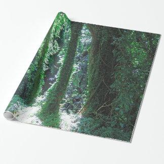 Papel De Regalo Selva hawaiana