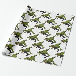 Papel De Regalo T-Rex personalizó artículos