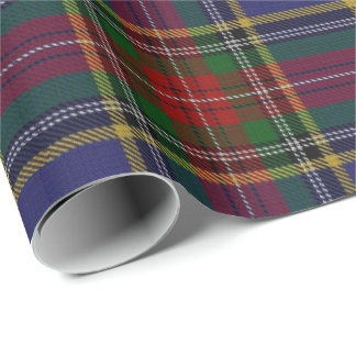 Papel De Regalo Tartán del escocés de Macbeth del clan