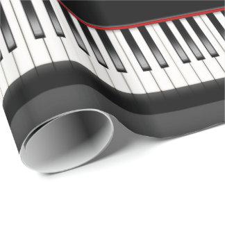 Papel De Regalo teclado de piano