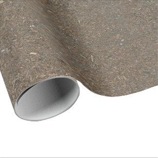 Papel De Regalo Textura de la suciedad del suelo y de la corteza