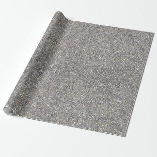 Papel De Regalo Textura global de piedra concreta de la roca