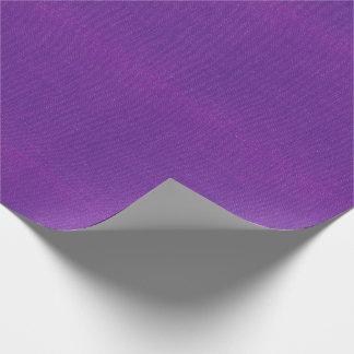 Papel De Regalo Textura violeta de la arpillera