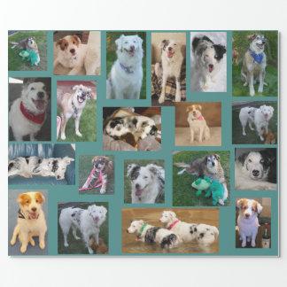 Papel De Regalo Todo el perro que envuelve Paper2