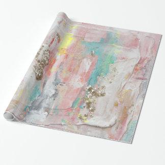 Papel De Regalo Un día agradable - pintura abstracta de las