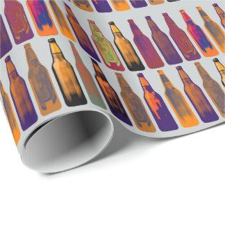Papel De Regalo un modelo de las botellas (cerveza)