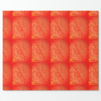 Papel De Regalo Wrappingpaper geométrico del regalo del rojo y del