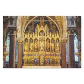 Papel De Seda Altar principal en Votivkirche, Viena Austria