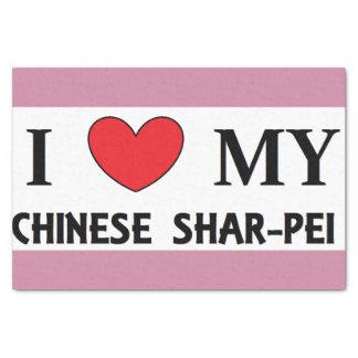 Papel De Seda amor shar chino