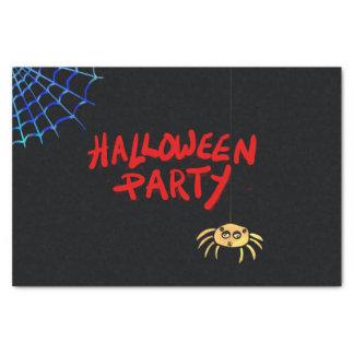 Papel De Seda Araña colgante Halloween