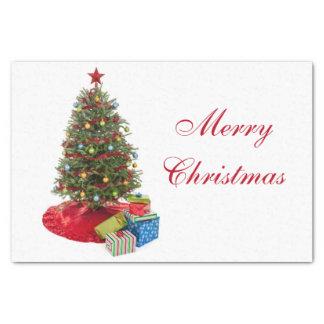 Papel De Seda Árbol de navidad