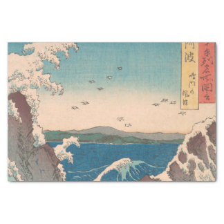 Papel De Seda Arte de Hiroshige del japonés de Naruto Whirlpool