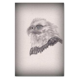 Papel De Seda Arte patriótico calvo americano de Eagle