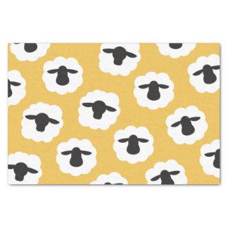 Papel De Seda Artes mullidos del amor de la fibra de las ovejas