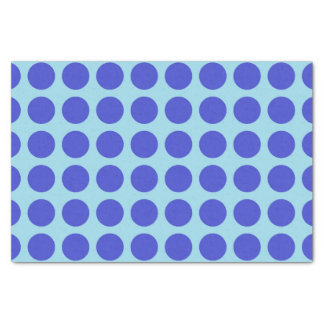 Papel De Seda Azul en colores pastel de los lunares azules