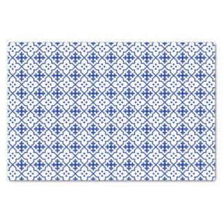 Papel De Seda Azul marroquí