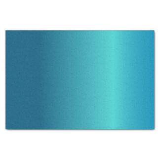 Papel De Seda Azul metálico