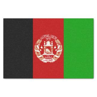Papel De Seda Bandera afgana patriótica