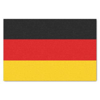 Papel De Seda Bandera alemana patriótica