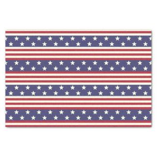 Papel De Seda Bandera americana patriótica los E.E.U.U. de las