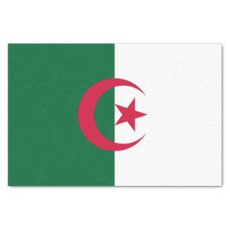 Papel De Seda Bandera argelina patriótica