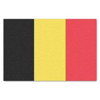 Papel De Seda Bandera belga patriótica