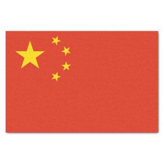 Papel De Seda Bandera china patriótica