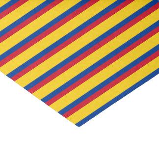 Papel De Seda Bandera de Colombia