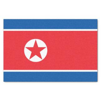 Papel De Seda Bandera de Corea del Norte