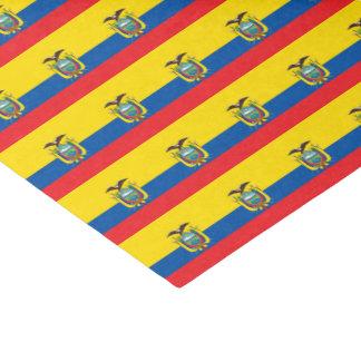 Papel De Seda Bandera de Ecuador