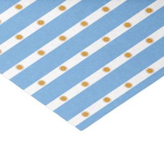 Papel De Seda Bandera de la Argentina