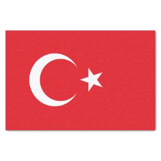 Papel De Seda Bandera de Turquía
