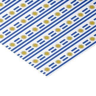 Papel De Seda Bandera de Uruguay