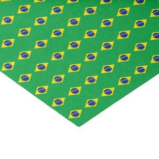 Papel De Seda Bandera del Brasil