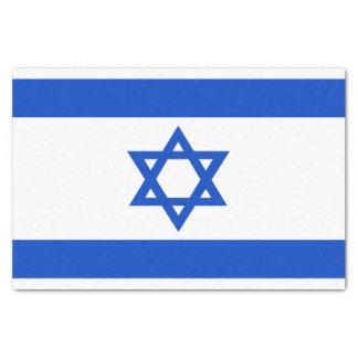 Papel De Seda Bandera del estado de Israel