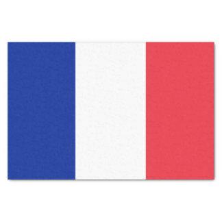 Papel De Seda Bandera francesa patriótica