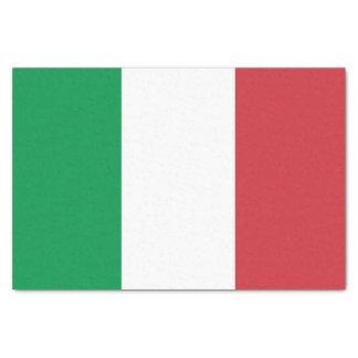 Papel De Seda Bandera italiana patriótica