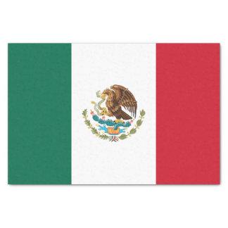 Papel De Seda Bandera mexicana patriótica
