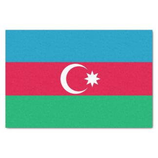 Papel De Seda Bandera patriótica de Azerbaijan