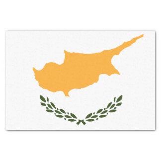 Papel De Seda Bandera patriótica de Chipre