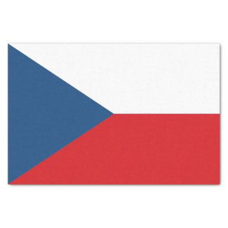 Papel De Seda Bandera patriótica de la República Checa
