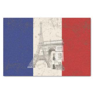 Papel De Seda Bandera y símbolos de Francia ID156
