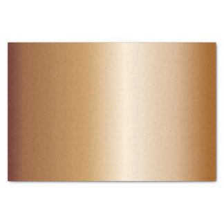 Papel De Seda Belces de cobre metálicas