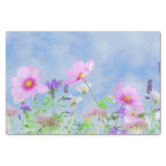 Papel De Seda Belleza floral