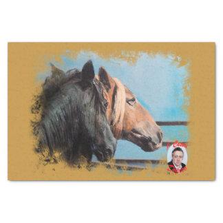 Papel De Seda Caballos/Cabalos/Horses