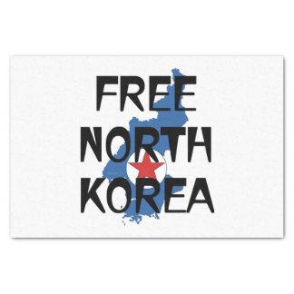 Papel De Seda CAMISETA Corea del Norte libre