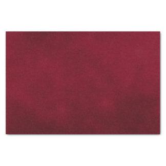 Papel De Seda Color de la mancha de Borgoña